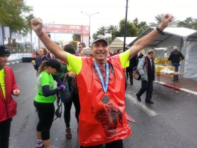 ארז פורת - מרתון טבריה